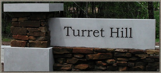 Turret Hill Signage and Cap