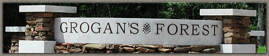 Grogan's Forest Signage and Caps