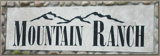 Mountain Ranch Signage