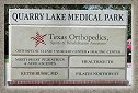 Quarry Lake Medical Pak Signage